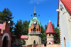 Andersengrad. A Town Hall Tower. Royalty Free Stock Photos