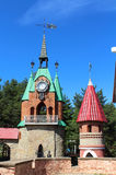 Andersengrad. A Town Hall Tower. Royalty Free Stock Photography