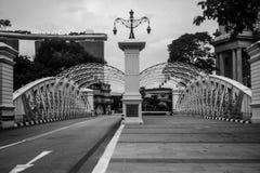 Anderson Bridge imagen de archivo libre de regalías