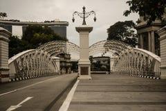 Anderson Bridge Imágenes de archivo libres de regalías