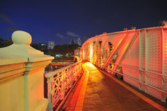 Anderson Bridge (Singapore) Royalty Free Stock Photos