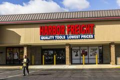 Anderson - Circa October 2016: Harbor Freight Tools Strip Mall Location. Harbor Freight Tools is a discount tool retailer I royalty free stock photos