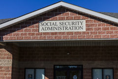 Anderson - Circa October 2016: Local Branch of the Social Security Administration III. Local Branch of the Social Security Administration. The SSA administers Stock Image