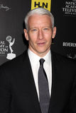 Anderson Cooper arrives at the 2012 Daytime Emmy Awards. LOS ANGELES - JUN 23:  Anderson Cooper arrives at the 2012 Daytime Emmy Awards at Beverly Hilton Hotel Royalty Free Stock Photos