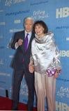 Anderson Cooper and Gloria Vanderbilt Royalty Free Stock Image