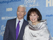 Anderson Cooper and Gloria Vanderbilt Royalty Free Stock Images