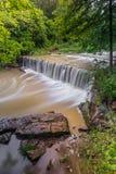 Anderson Falls dell'Indiana Immagini Stock
