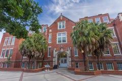 Anderson Hall à l'université de la Floride images stock