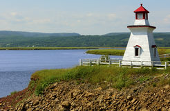 Anderson Hollow Lighthouse New Brunswick Canada Royalty Free Stock Photo