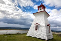 Anderson Hollow lighthouse New Brunswick Stock Image