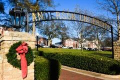 Anderson uniwersytet obraz stock