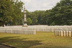 andersonville немногие могилы Стоковое Изображение