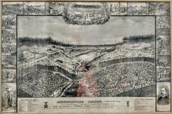 Andersonville car il était 1864 Image libre de droits