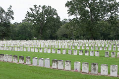 Andersonville Cemetery. Cemetery for civil war prisoners at the Andersonville National Historic Park in Georgia Stock Photography