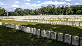 Andersonvillebegraafplaats Stock Fotografie