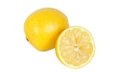 Anderthalb Zitronen stockbilder