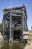 Anderton Boots-Aufzug Stockbild