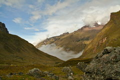 The Andes Royalty Free Stock Photo