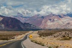 Andes Argentyna Zdjęcie Stock