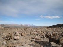 Andes around Puno Stock Image