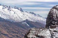 Andes berg beskådar Royaltyfri Bild
