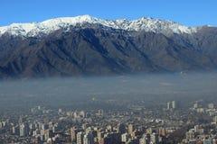 Andes berg, Chile Arkivbild