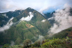 Andes, Bolivar Province, Ecuador Stock Images