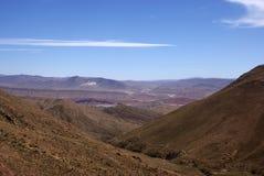 Andes e deserto de atacama, Uyuni, Bolívia fotografia de stock royalty free