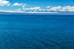 Andes e lago Titicaca Imagens de Stock