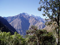 Andes on the Inca Trail Royalty Free Stock Photos