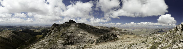 Free Andes Landscape Mountain Blue Sky White Clouds Royalty Free Stock Photos - 14285238