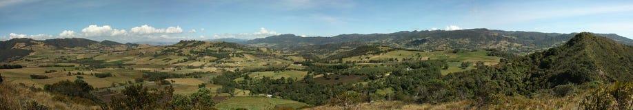 Andes landschap, Colombia Stock Afbeelding