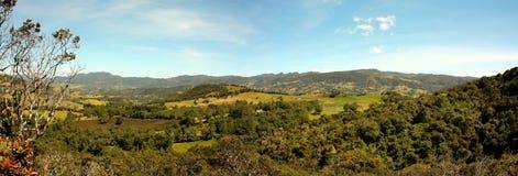 Andes landschap, Colombia Royalty-vrije Stock Afbeeldingen
