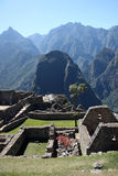 Andes from Machu Picchu Stock Images