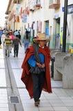 andes man traditionella nordliga peru Fotografering för Bildbyråer