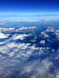 Andes Mountain From the Air Royalty Free Stock Images