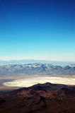 Andes Mountains. An aerial view of the andes mountains royalty free stock image