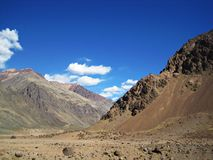 Andes Mountains Stock Image
