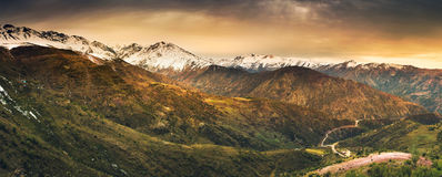 Andean Heights Royalty Free Stock Image