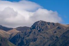 Andes Mountains - Quito, Ecuador. A view of the peaks of the Andes Mountains near Quito, Ecuador Stock Image