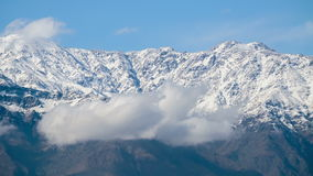 Andes Mountains Timelapse 4K. Clouds over The Andes Mountains timelapse stock video