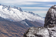 Andes Mountains View Royalty Free Stock Image