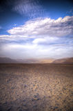 Andes in the Nazca desert Royalty Free Stock Image