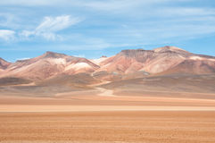 The Andes, near Atacama (Chile) Royalty Free Stock Photos