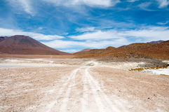 The Andes, near Atacama (Chile) Stock Image