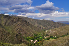 The Andes near Villavicencio Royalty Free Stock Image