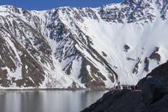 Andes pasmo górskie zdjęcie royalty free