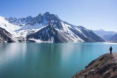 Andes pasmo górskie obraz royalty free