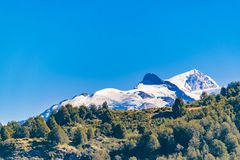 Andean Patagonia Landscape, Aysen, Chile. Andes patagonia landscape scene at aysen district, Chilea royalty free stock images
