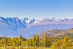 Andean Patagonia Landscape, Aysen, Chile. Andes patagonia landscape scene at aysen district, Chilea stock photography
